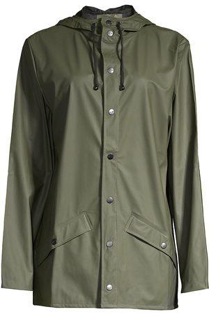 Rains Women's Hooded Mackintosh - - Size Small-Medium