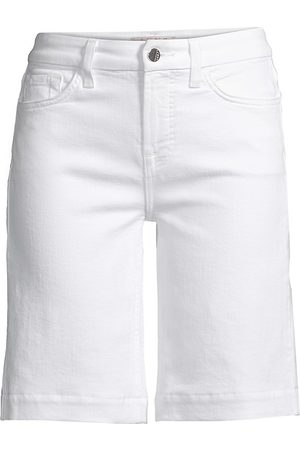 7 for all Mankind Women's Sculpting Bermuda Jean Shorts - - Size 32 (14)