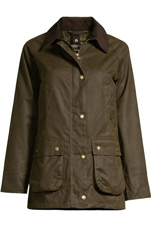 Barbour Women's Acorn Wax Cotton Jacket - - Size 10