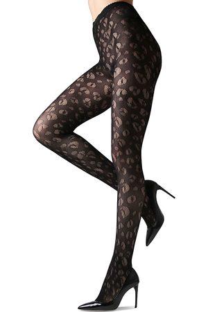 Natori Women's Leopard Net Tights - - Size Medium