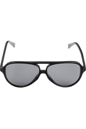 Céline Men's 61MM Plastic Aviator Sunglasses