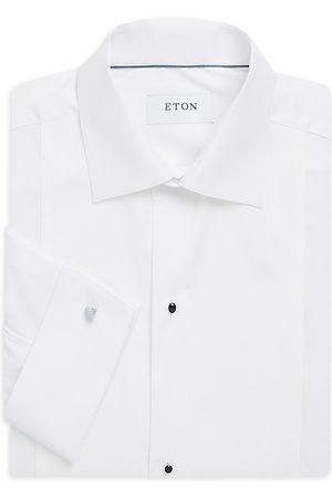 Eton Men's Pique Front Cotton Dress Shirt - - Size 16.5