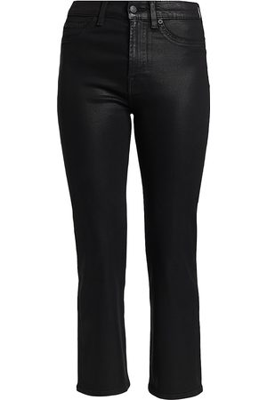 7 for all Mankind Women's High-Rise Slim Kick Jeans - - Size 32 (12)