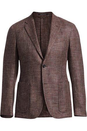 Ermenegildo Zegna Men's Wool Melangé Sportcoat - - Size 56 (46) R