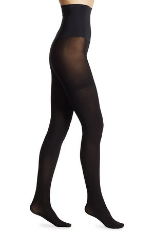 Commando Women's Ultimate Opaque Control Tights - - Size Large