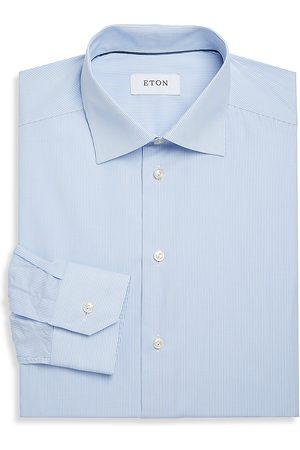 Eton Men's Slim-Fit Striped Dress Shirt - - Size 17