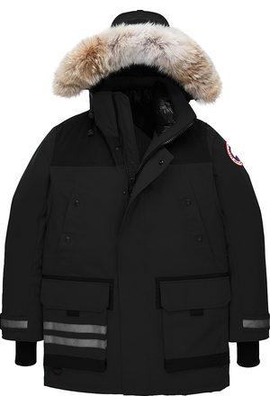 Canada Goose Men's Erickson Coyote Fur-Trim Down Parka - - Size XS