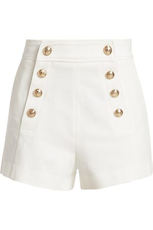 Derek Lam Women's Robertson Stretch Twill Shorts - - Size 10