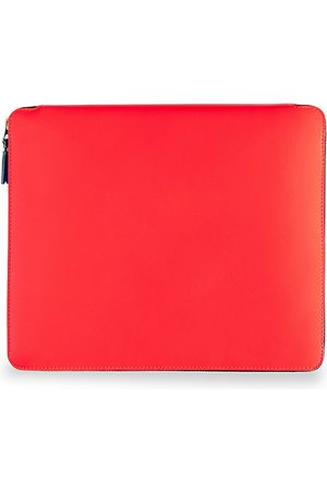 Comme des Garçons Men's Super Fluo Leather iPad Cover