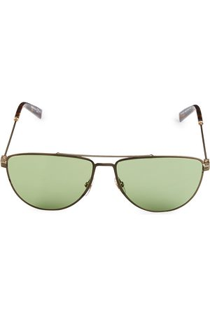 Givenchy Men's 58MM Stainless Steel Aviator Sunglasses