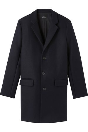 A.P.C Men's Manteau Visconti Coat - - Size XL