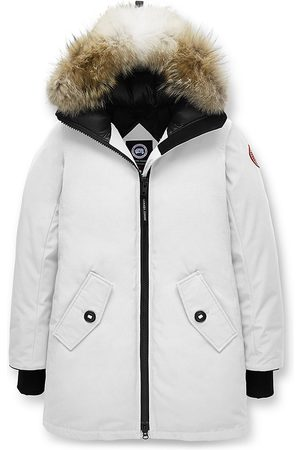 Canada Goose Women's Rosemont Coyote Fur-Trim Down Parka - - Size Medium