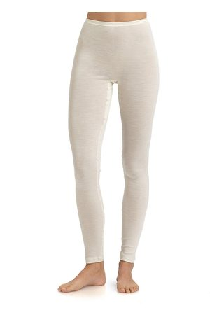 Hanro Women's Wool & Silk Leggings - - Size Large