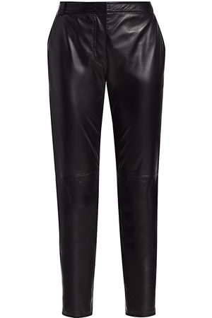 Altuzarra Women Leather Pants - Henri Leather Pants - - Size 42 (10)