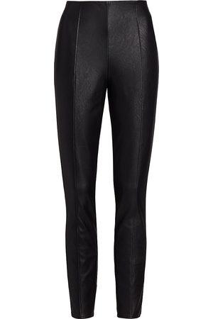 Paige Women's Kiana Faux Leather Leggings - - Size Medium