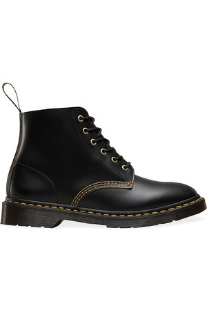 Dr. Martens Men's Archive 101 Arc Leather Combat Boots - - Size 11 UK (12 US)
