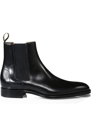 ALFRED DUNHILL Men's Kensington Leather Chelsea Boots - - Size 44 (11)