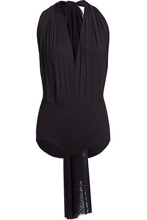 Wolford Women's Miranda Halter Bodysuit - - Size Large