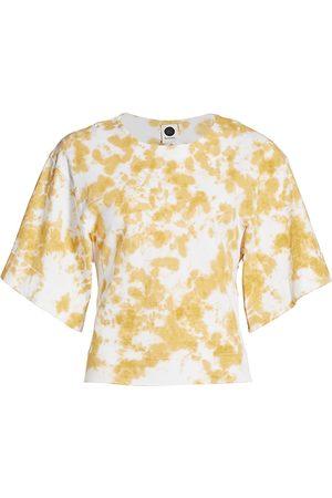 BASSIKE Women's Tie-Dye Batwing T-Shirt - - Size XS