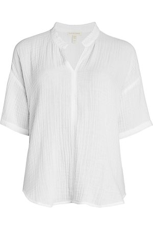 Eileen Fisher Women's Crinkle Boxy-Fit Tunic - - Size XL
