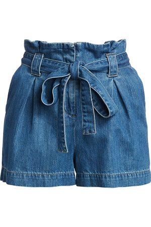L'Agence Women's Hillary Paperbag Shorts - - Size 30 (8-10)