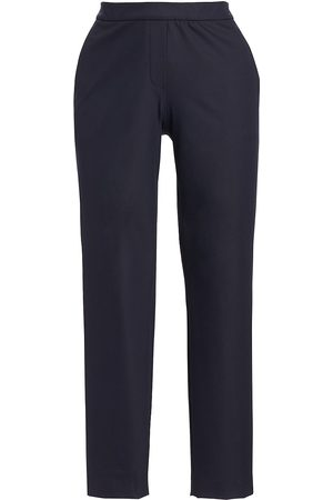 THEORY Women's Thaniel Twill Slim-Fit Crop Pants - - Size 12