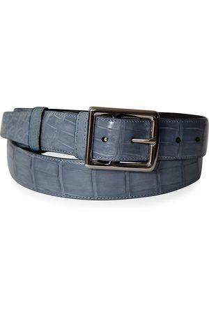 Grace Men's Genuine Crocodile Buckle Belt - - Size 44