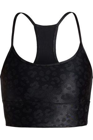 Koral Women's Norah Infinity Leopard Sports Bra - - Size Medium