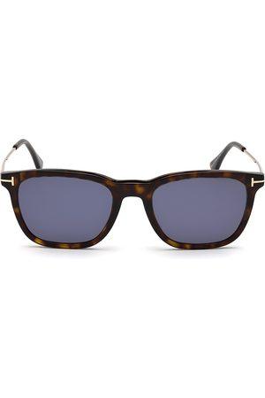 Tom Ford Men's Arnaud 53MM Geometric Sunglasses - Havana