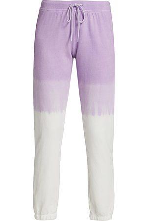 Splits59 Women's Charlie Dip-Dye Sweatpants - Off Lavendar - Size XS