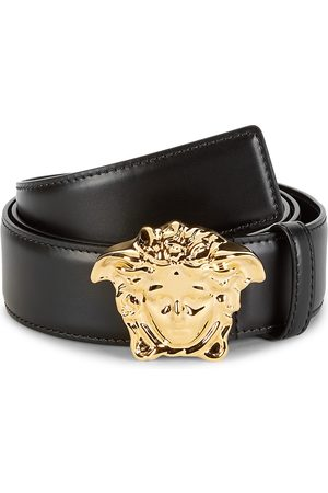 VERSACE Men's Medusa Leather Belt - - Size 115 (46)