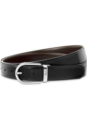 Mont Blanc Men's Reversible Cut-To-Size Casual Belt