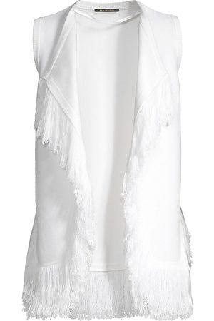Kobi Halperin Women's Brielle Fringe Knit Vest - - Size Small