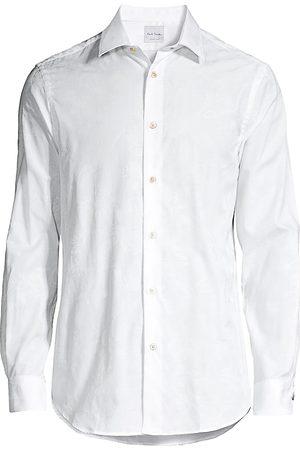 Paul Smith Men's Tonal Jacquard Soho Shirt - - Size 16
