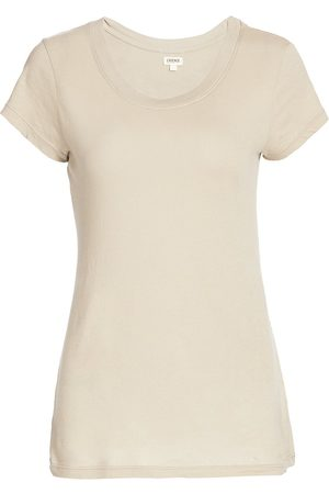L'Agence Women's Cory High-Low Tee - - Size Large