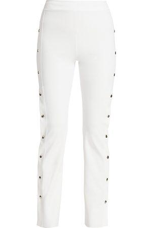 CHIARA BONI Women's Veerle High-Waist Side-Snap Pull-On Pants - - Size 52 (16)
