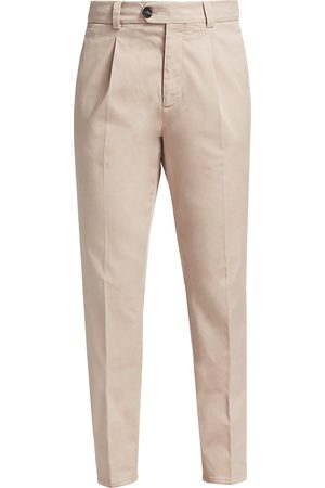 Brunello Cucinelli Men's Garbadine Single Pleat Pants - - Size 52 (36)