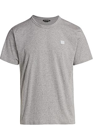 Acne Studios Men's Nash Face Crewneck Cotton Tee - - Size Medium
