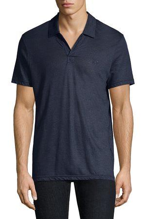 Vilebrequin Men's Pyramid Linen Polo Shirt - - Size XL