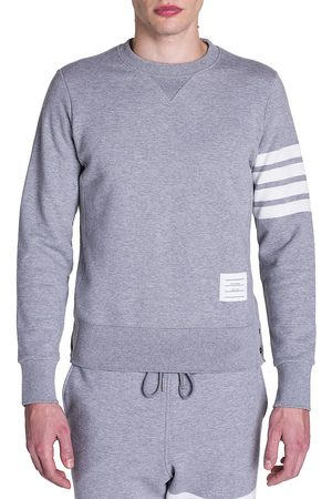 Thom Browne Men's Bar Striped Sleeve Sweatshirt - - Size 5 (XXL)
