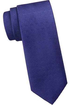 Charvet Men's Illusion Diamond Silk Tie