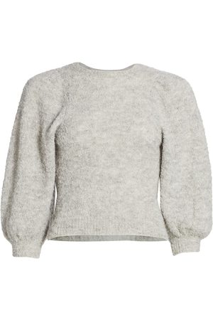 RACHEL COMEY Women's Forbell Boucle Alpaca-Blend Sweater - - Size Large