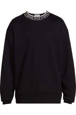 Acne Studios Men's Fulton Logo-Trimmed Sweatshirt - - Size XXL