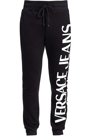 VERSACE Men's Macro Logo Joggers - - Size Medium