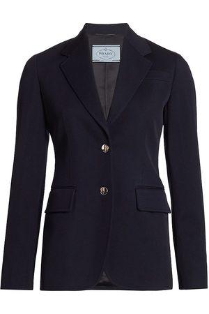 Prada Women's Virgin Wool Jacket - - Size 42 (6)