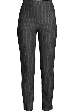Kobi Halperin Women's Juliet Pinstripe Ankle Pants - - Size XXL
