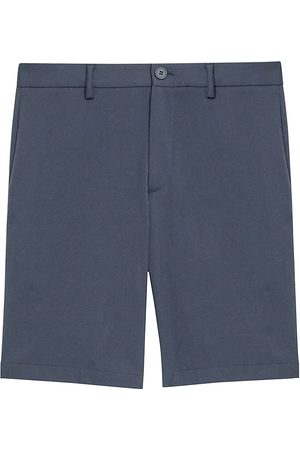 THEORY Men's Zaine Slim-Fit Straight-Leg Denim Shorts - - Size 38