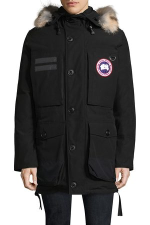 Canada Goose Men's Maccullouch Fur Trimmed Parka - - Size XS
