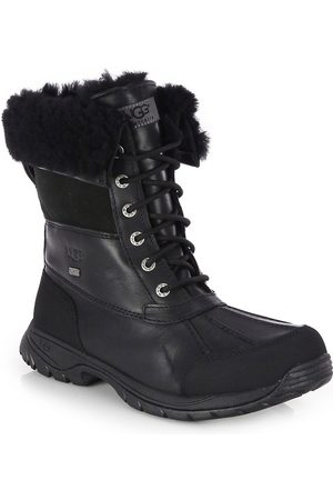 UGG Men's Men's Butte Waterproof Leather Boots - - Size 7