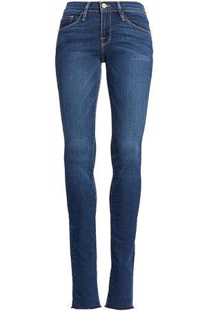 Frame Women's Karlie Mid-Rise Supermodel-Length Skinny Jeans - - Size 26 (2-4)
